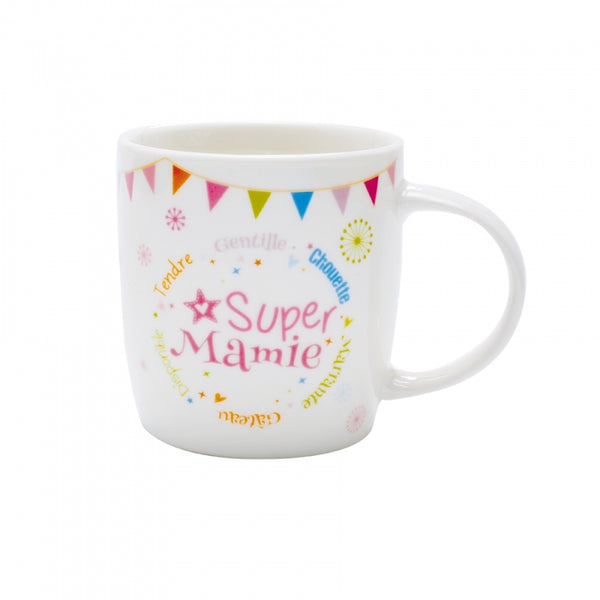 Mug super mamie collection festive