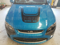 "FORD "" FG GT Mk1 "" FALCON XR8 Bonnet Bulge Decal BOSS 315 290"