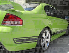 "FORD "" BF Mk1 GT "" FALCON XR8 XR6 Sedan & Utes"