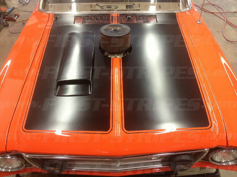 Ford Falcon XW GT BONNET STRIPE Paint MASK/STENCIL.