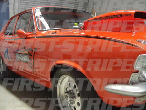 Holden LC GTR TORANA ' Side Stripe Kit '