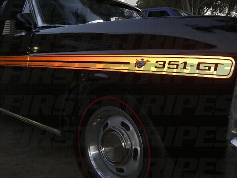 FORD XY GT HO FALCON ' REFLECTIVE STRIPE KIT '