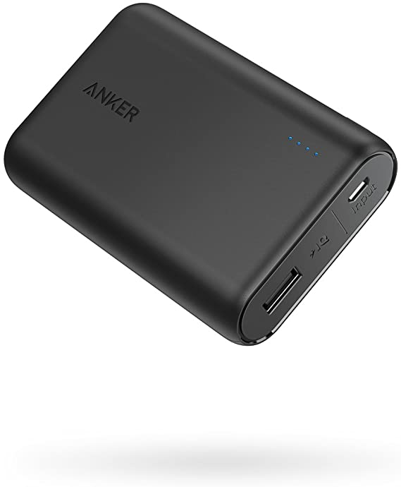 Anker PowerCore 10000 Portable Charger, One of The Smallest and Lightest 10000mAh Power Bank
