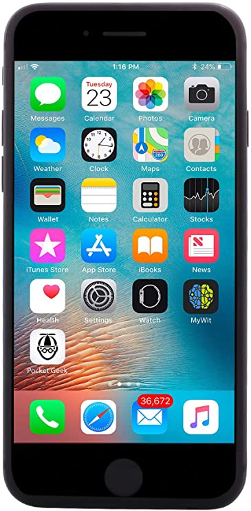 Apple iPhone 8, 64GB, Space Gray - Fully Unlocked (Renewed Premium)