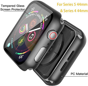 Misxi Black Hard Case Compatible with Apple Watch Series 5 Series 4