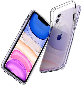 Spigen Liquid Crystal Designed for Apple iPhone 11 Case (2019) - Crystal Clear
