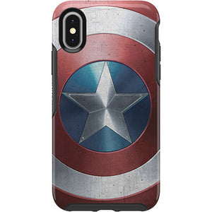 Symmetry Series Marvel Avengers Case for iPhone X/Xs - Captain America