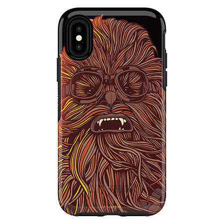 Symmetry Series Solo: A Star Wars Story Case for iPhone X/Xs - Chewbacca