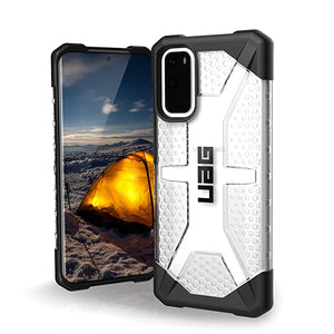 URBAN ARMOR GEAR UAG Samsung Galaxy S20 Case [6.2-inch Screen] Plasma [Ice] Rugged Translucent Ultra-Thin Military Drop Tested Protective Cover