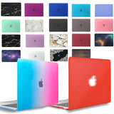 Matte Hard Shell Laptop case For Apple MacBook