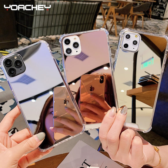 Mirror Phone Case For iPhone - Plus Shockproof Case