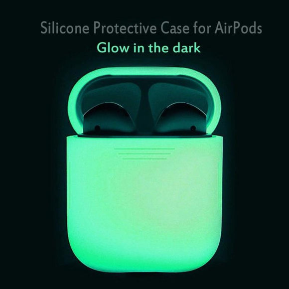 Glow in dark Luminous shockproof Protector Sleeve for Air Pods