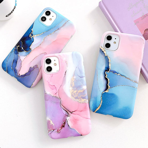 Beautiful Granite Marble Phone Case For iPhone