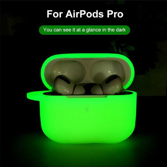 Glow In The Dark Silicone Shock Proof Protective CaseFor Apple AirPods Pro