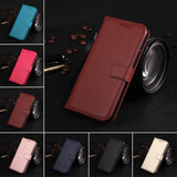 PU Leather Phone Case For Samsung Galaxy - Wallet Card Holder Cover