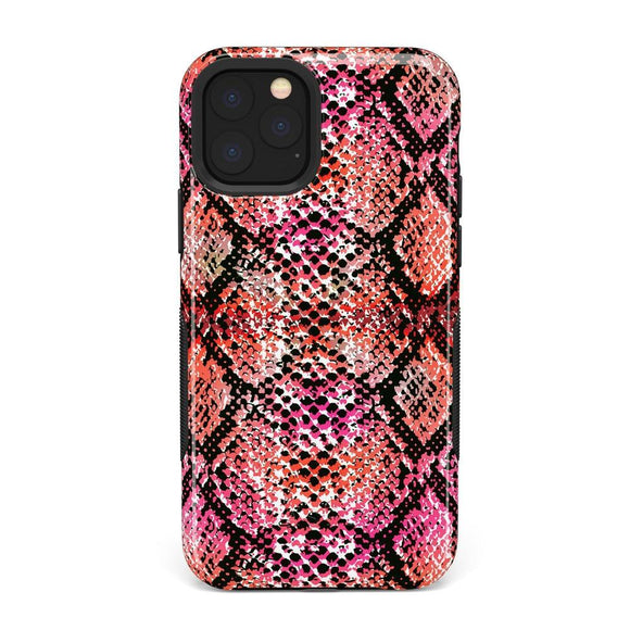Snake Along Red Snake Skin Case | Casely Phone Case