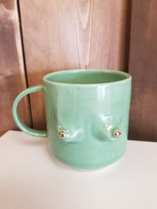 Titty Mug - Green