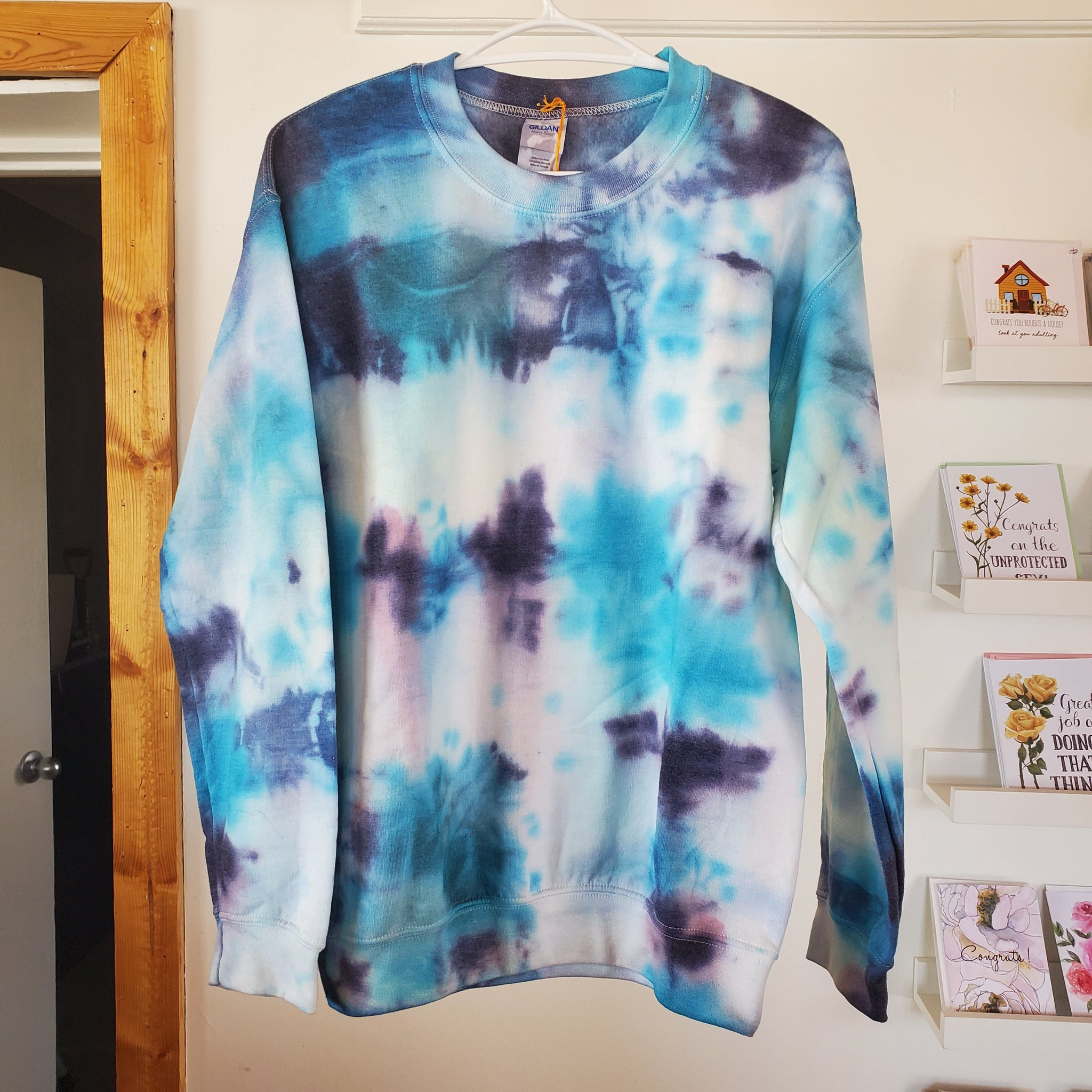 Sweater - Tie Dye Blue/Purple