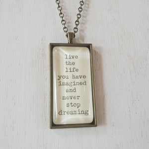 Necklace - Live Life