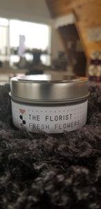 The Florist - Fresh Flowers Soy Wax Candle Tin