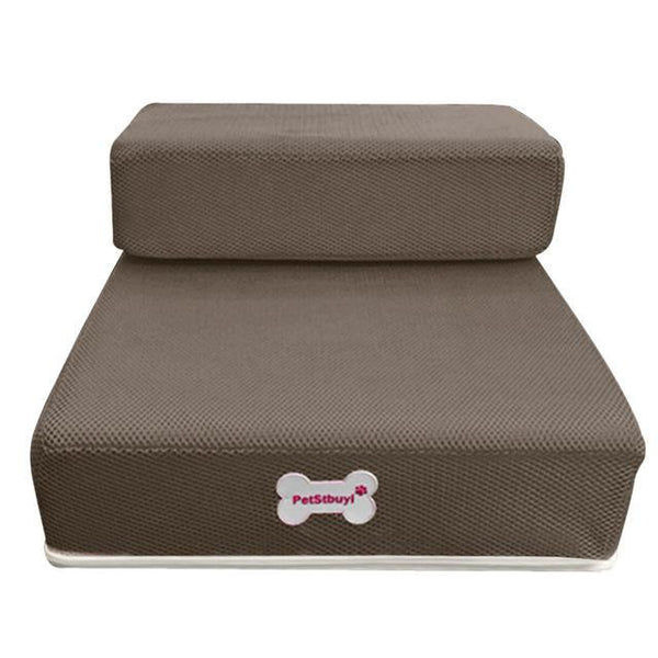 Pet Junxion bed Brown / See product descript / International Foldable Stairs for Cats and Dogs