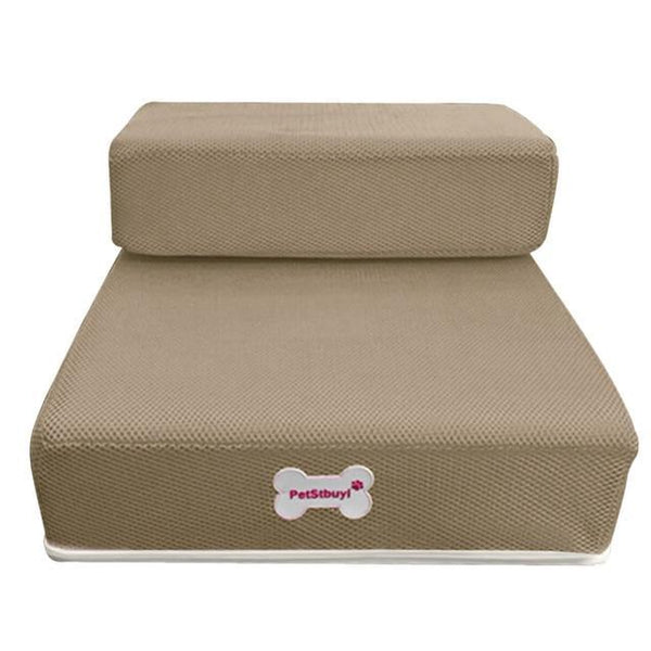 Pet Junxion bed Coffee / See product descript / International Foldable Stairs for Cats and Dogs