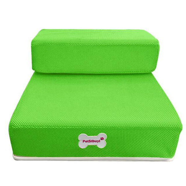 Pet Junxion bed Green / See product descript / International Foldable Stairs for Cats and Dogs