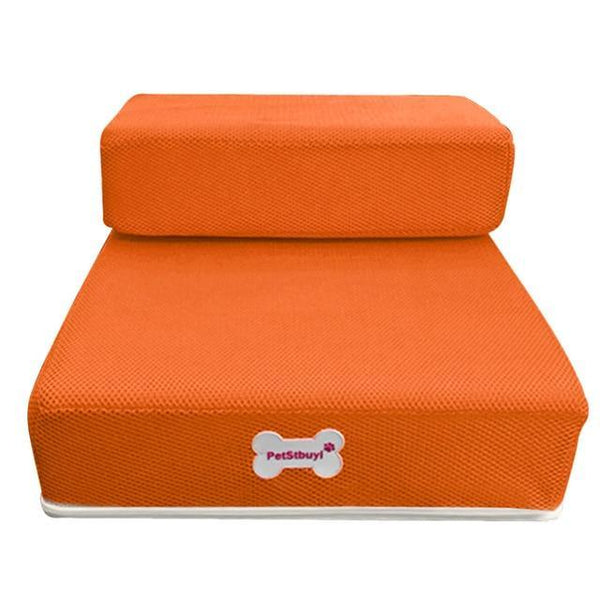 Pet Junxion bed Orange / See product descript / International Foldable Stairs for Cats and Dogs