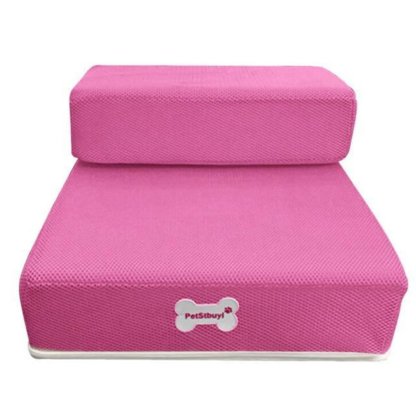 Pet Junxion bed Pink / See product descript / International Foldable Stairs for Cats and Dogs