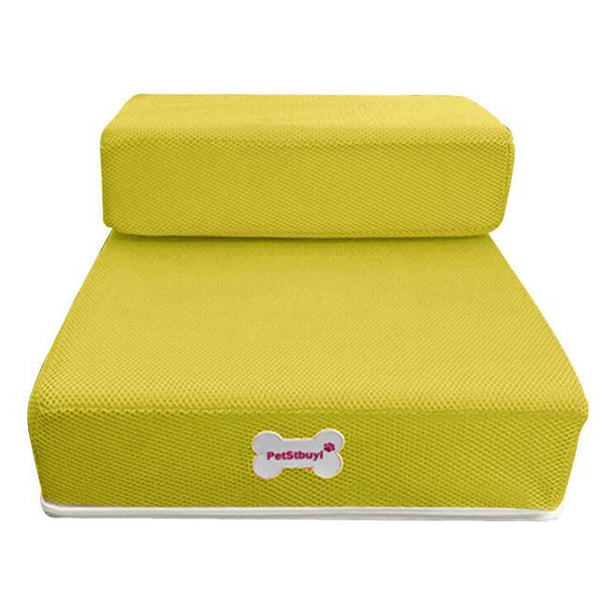 Pet Junxion bed Yellow / See product descript / International Foldable Stairs for Cats and Dogs