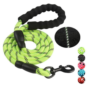 Pet Junxion leash Black / M Reflective Nylon Rope Dog Leash