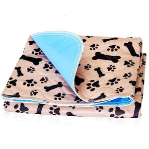 Pet Junxion Paw Pattern / 70x80CM / International Reusable Pet Pee Pad