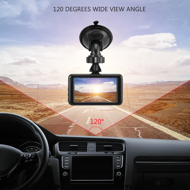 3 Inch 1080P Dash Cam With Night Vision