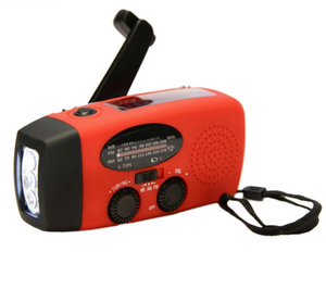 Survival Hand Crank Radio/Flashlight/Charger