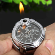 Load image into Gallery viewer, Stainless Steel Lighter Watch