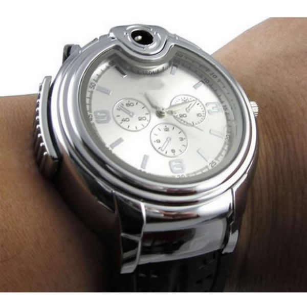 Stainless Steel Lighter Watch