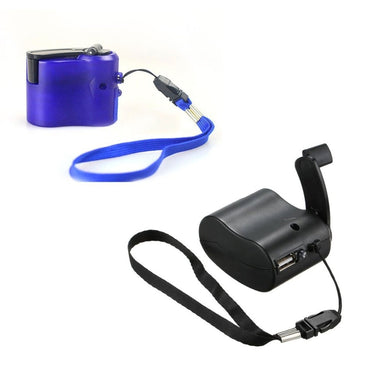Emergency Hand Crank Phone Travel Charger