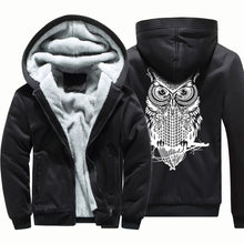 Load image into Gallery viewer, Casual Owl Zip-Up