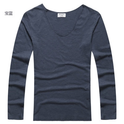 Men's Long Sleeves Casual T-shirt