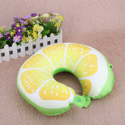 Fruit U Shaped Travel Pillow Home Textile