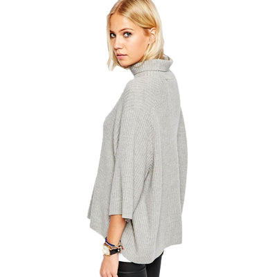 Women Autumn And Winter Pullovers Loose Sweater