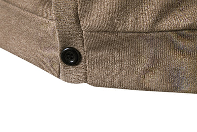 Autumn Solid Color Men's Sweaters