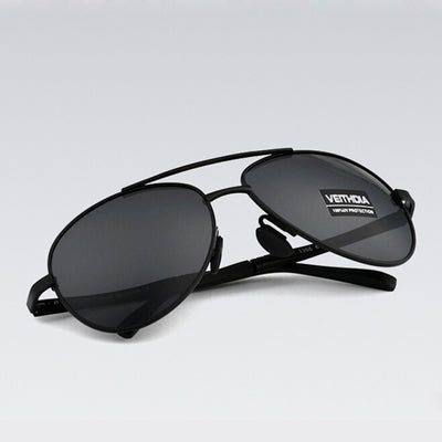 Men's Brand Designer Pilot Polarized Sunglasses