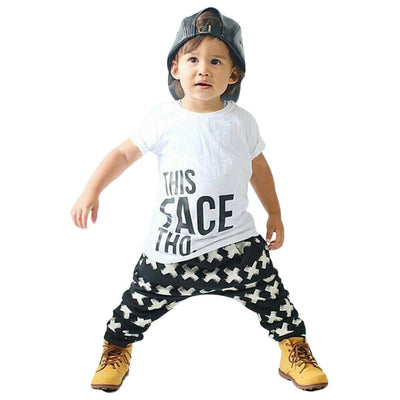 Summer Baby Boy Clothing Toddler Casual T-shirt