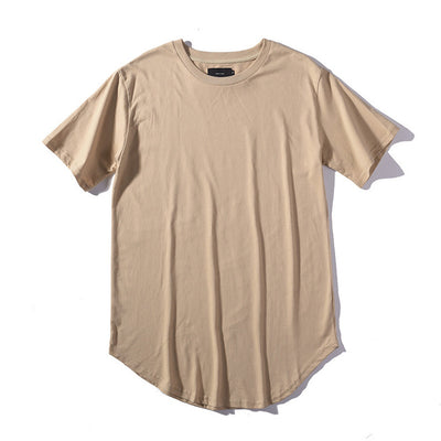 Longline Casual T-Shirts
