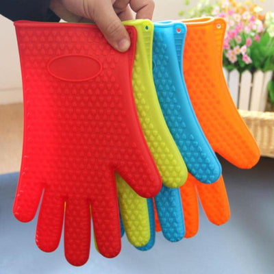 Silicone Glove Kitchen Heat Resistant Kitchen Accessories