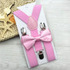 Kids Suspenders With Bowtie Bow Tie Set