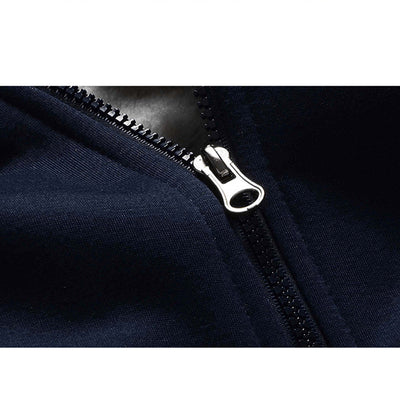 Hoodie Winter Warm Fleece Zipper Jacket Outwear Coat