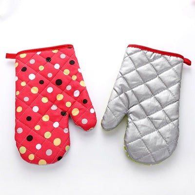Heat Insulation Microwave Oven Baking Gloves