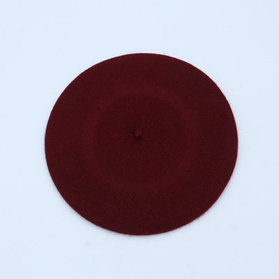 Winter Wool Cotton Blend Cap